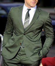 green velvet suit picture 2 pieces man Suits  custom suits for men  business  All years ZYL07
