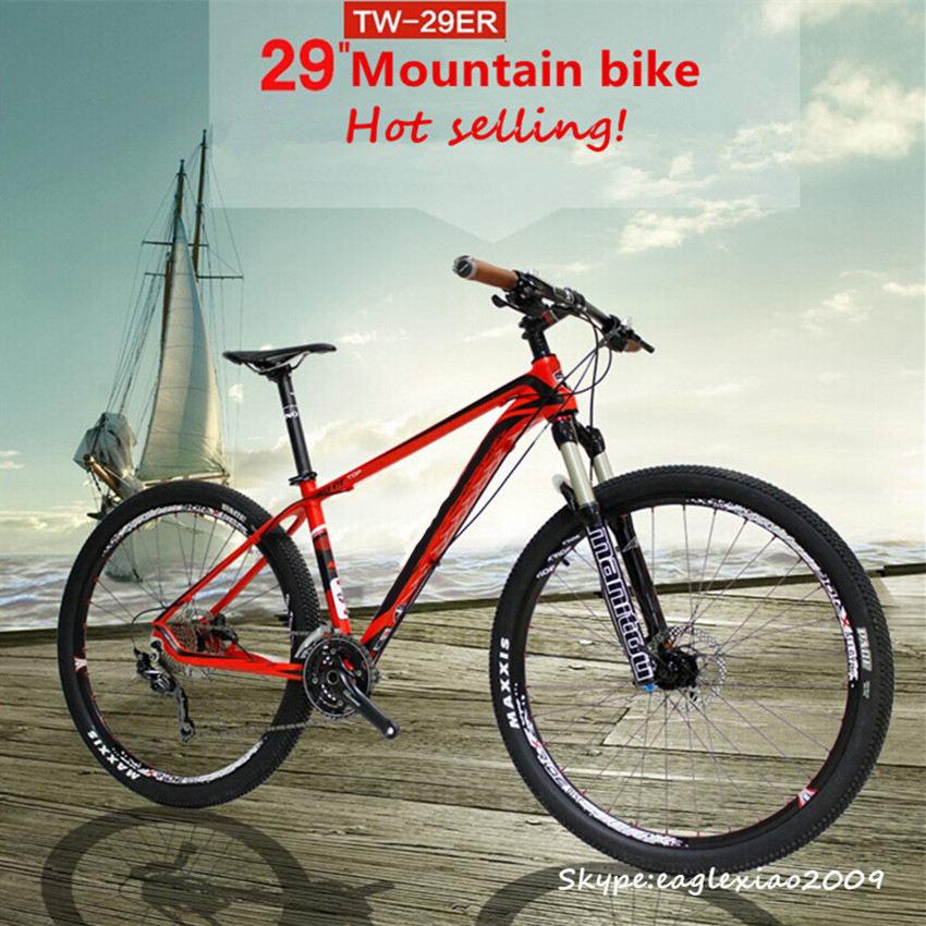 alüminyum alaşım çatal malzeme alüminyum jant malzemesi 29 inç zincirsiz bisiklet değil katlanabilir bisiklet 30 hız