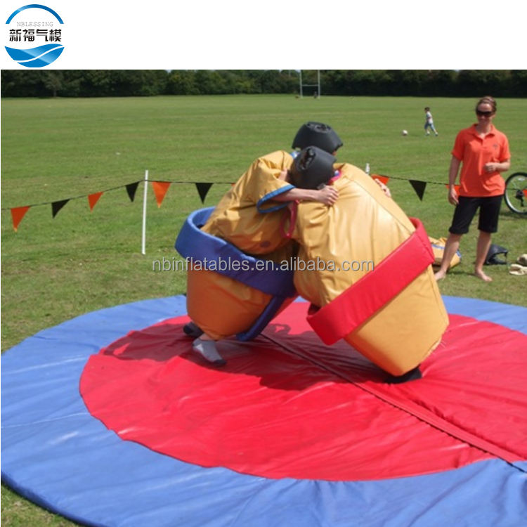Inflatable Sports Games/ Sumo Suits Sumo Wrestling/ Foam Padded Sumo Wrestling Suits Mat