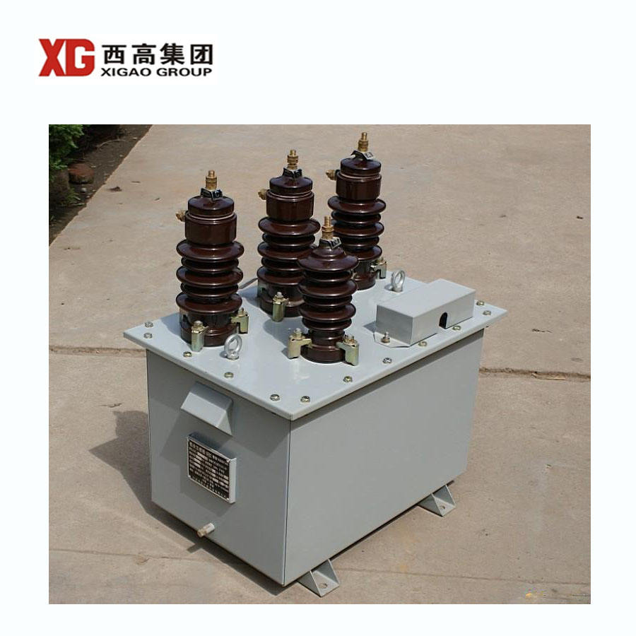 outdoor single phase oil immersed type 11kv 33kv pt ct metering unit