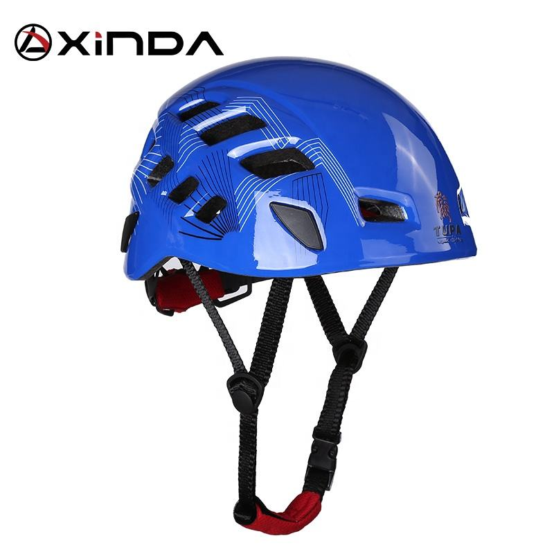 Xinda professional industrial safety helmet climbing helmet with EPS shell