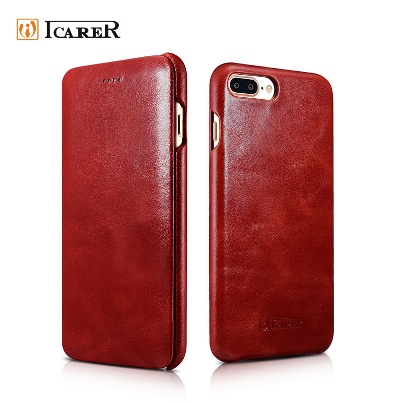 Luxury Shockproof Leather Mobile Phone Case For iPhone7 For iPhone 7 Leather Cover