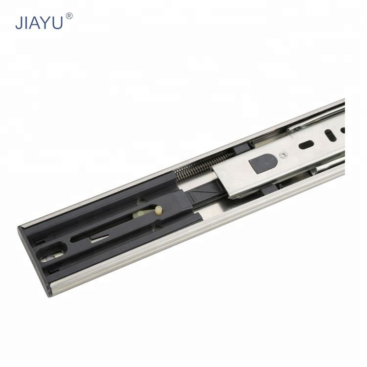 40Mm Telescopic Ball Bearing Slider With Fold Drawer Channel