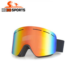 cheap ski goggle manufacturer adult cylindrical lens anti fog  snowboard glasses snow eyewear