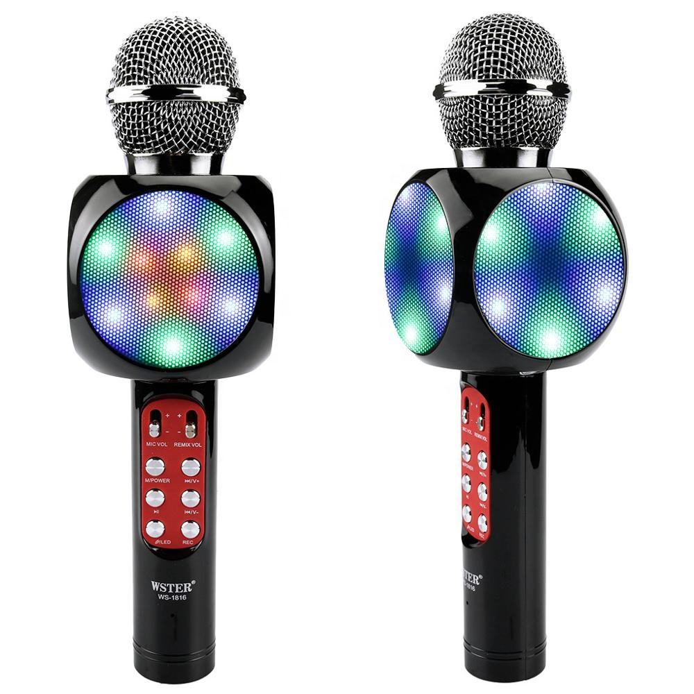 Karaoke Wireless Bluetooth Microphones with Noise-canceling Electric Condenser Amplifier