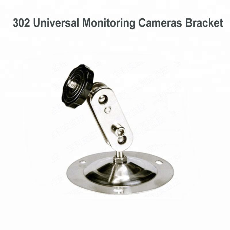 Aluminum Alloy Height 38cm Wall Mount Bracket Stand for CCTV Security Cameras