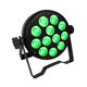 par light dj light 6in1 RGBAW UV IR Remote control 12pieces LED Par Can With DMX512 LED Par Light For Stage Event