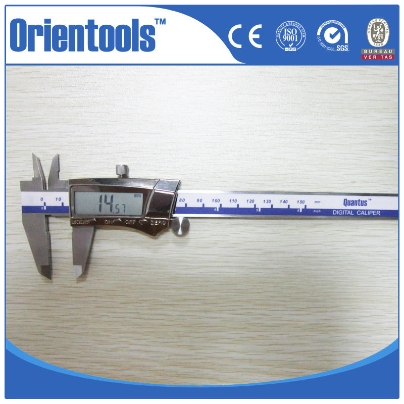 High Accuracy Digital Inch Fraction Vernier Caliper Stainless Hardened