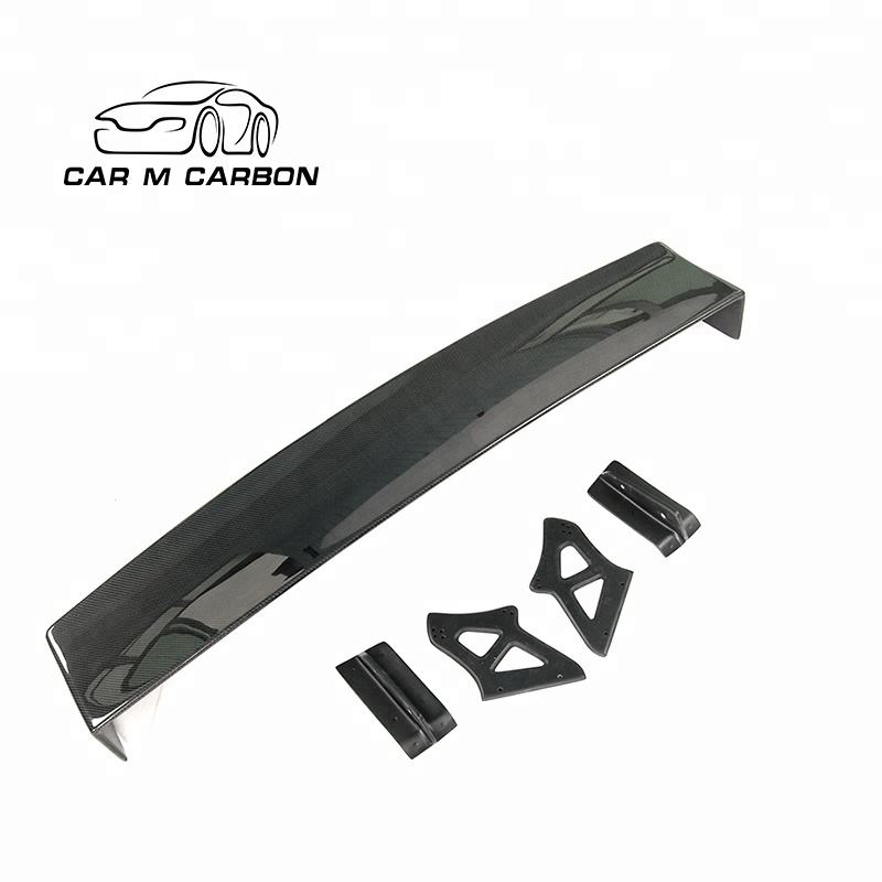 Carbon rear wing for BRZ GT86 to V style rear trunk spoiler