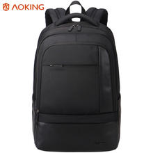 Aoking Classic Business Men's Backpack Large Capacity Casual Students Laptop Backpack Anti-theft Waterproof Mochila
