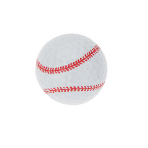 Novelty Creative Rubber Golf Ball 6 kinds of Pattern Game Similar Rugby soccer baseball tennis basketball