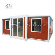 Factory direct supply movable Prefabricated Expandable foldable container houses for office, Shop, accomodation