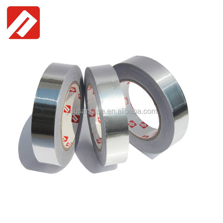 Warna Silver hvac aluminium foil tape untuk transformer winding