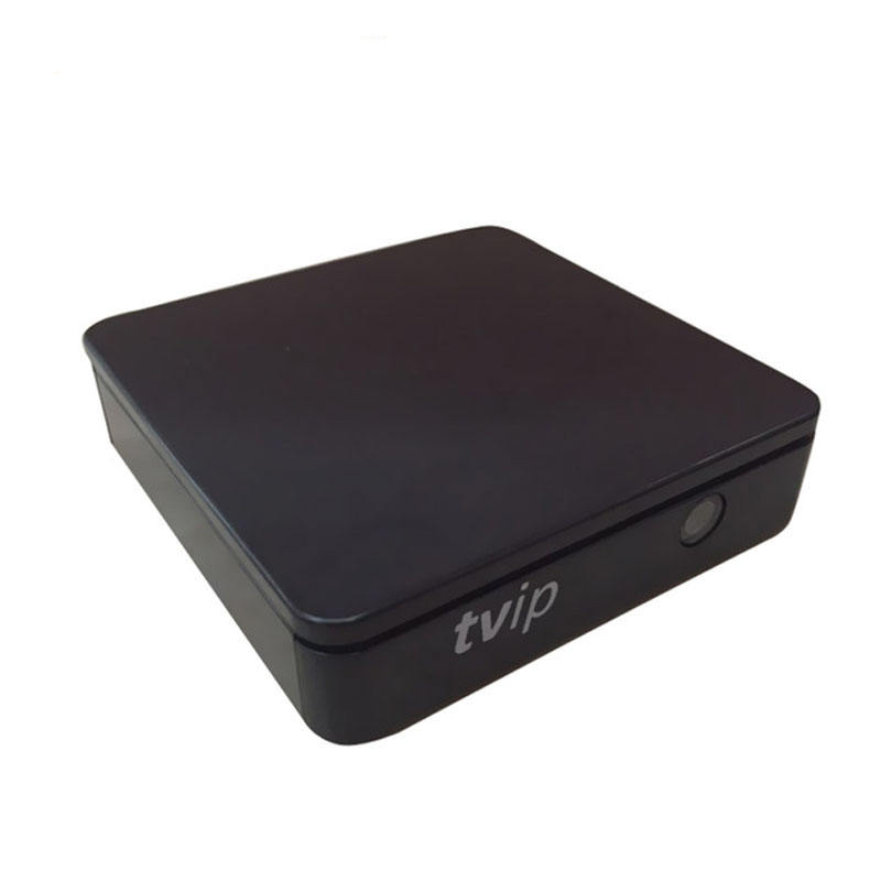 TVIP 410 412 Box Amlogic Quad Core 4GB SISTEMA OPERACIONAL Linux Apoio Caixa Smart TV H.265 Airplay DLNA