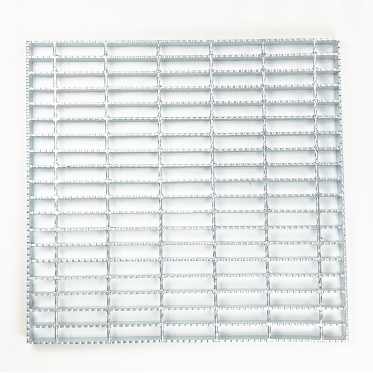 Metal Serrated drainage covers Steel Grid Grating To Construction Building Material
