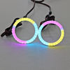 Baead sk6812 LED angel eye light cotton chasing halo rings for universal cars