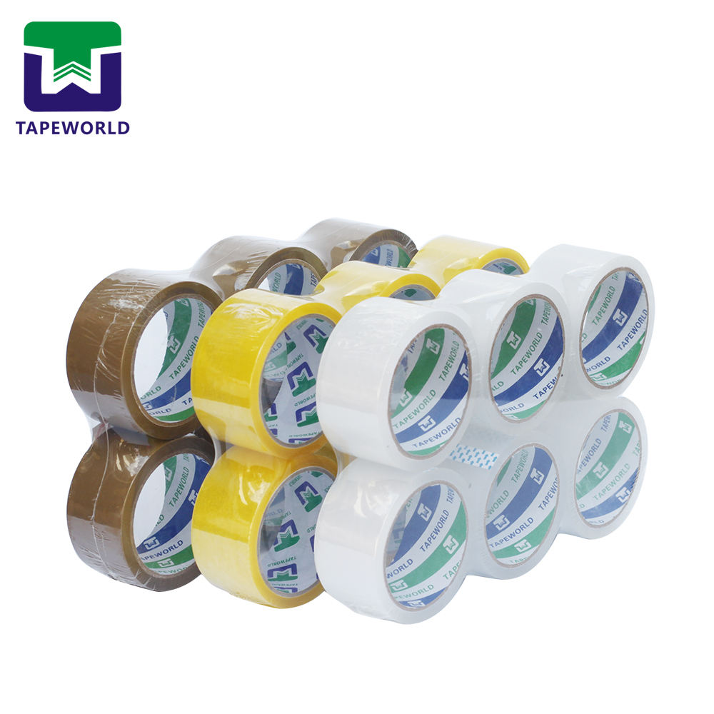 <span class=keywords><strong>Tahan</strong></span> <span class=keywords><strong>Lama</strong></span> Transparan Tan Brown Yellow Cello Packing Tape