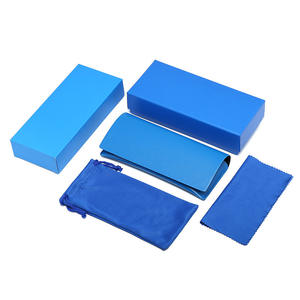 Custom Logo Eyewear Box Pouches Cleaning Clothes sunglasses Packaging with Your brand