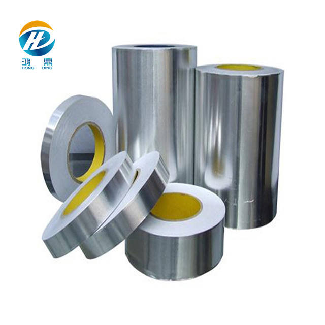 industrial pharmaceutical Household tin foil aluminium paper seal induction liner jumbo blister food packaging roll