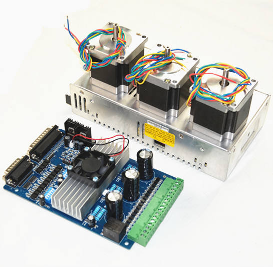 3 assi CNC kit 2Nm <span class=keywords><strong>NEMA</strong></span> 23 stepper motor & TB6560 per il router di CNC