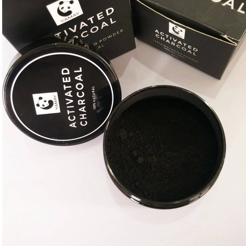 Private Labeling Teeth Whitening Dry Powder Activated Charcoal USA