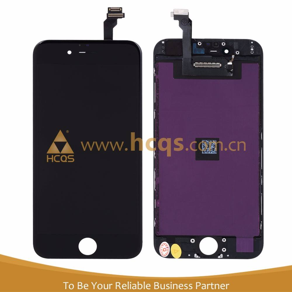 Long terms cooperation Lcd with screen For Mobile iphone 6g chinese Front lcd+ touch for Apple iphone for wholesales