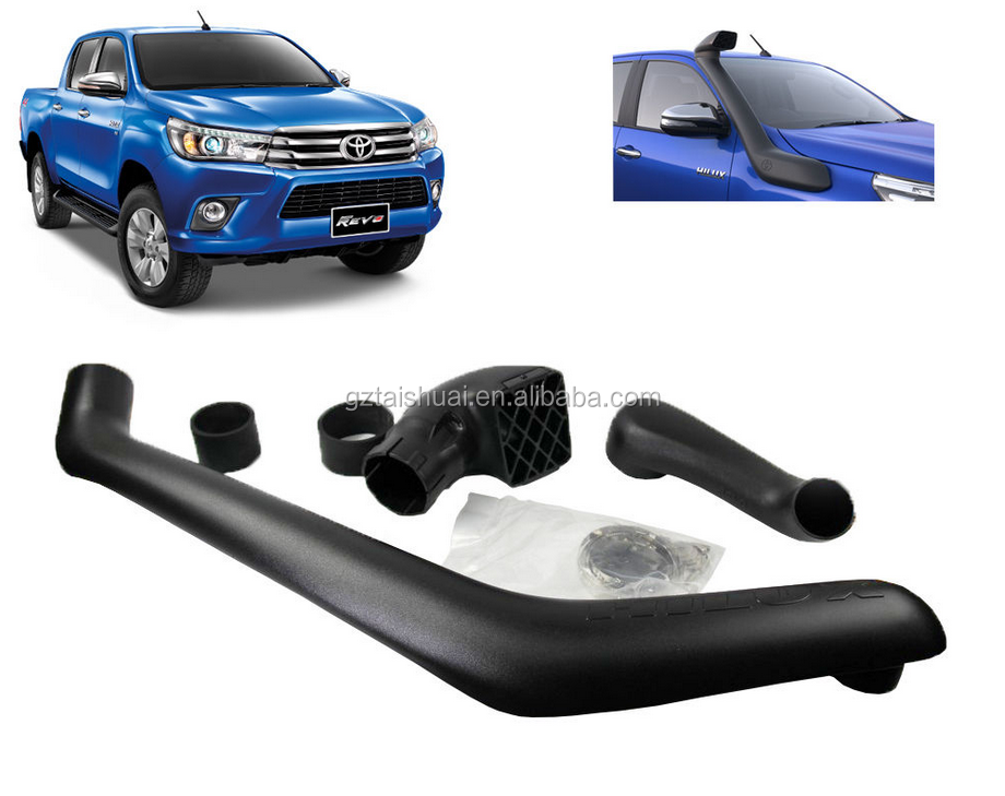 Hot Selling Thailand Style Air Flow Car Snorkel 4x4 Pickup Car Kits For Hilux 2016 Revo Snorkel