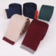 100% Polyester Plain Solid Knitted Ties Men