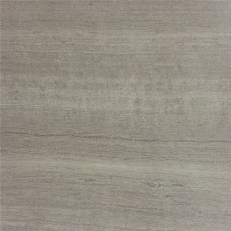 Chinese gray wooden vein marble composite tile for sale