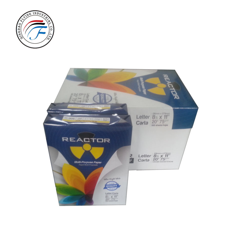 80gsm A4 white copier paper without pallet