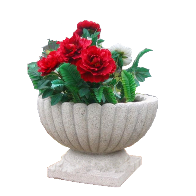 Fibegalss garden urn planter wholesale