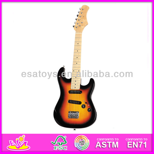2015 New wooden kids guitar,popular 30'' kids guitar with speaker and hot sale kids guitar with cheap price W07H011
