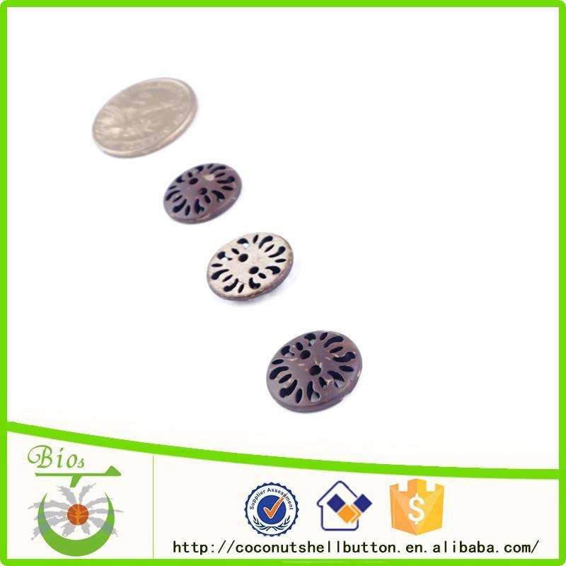Turco modelo redondo coconut shell botones de la camisa de venta al por mayor a granel