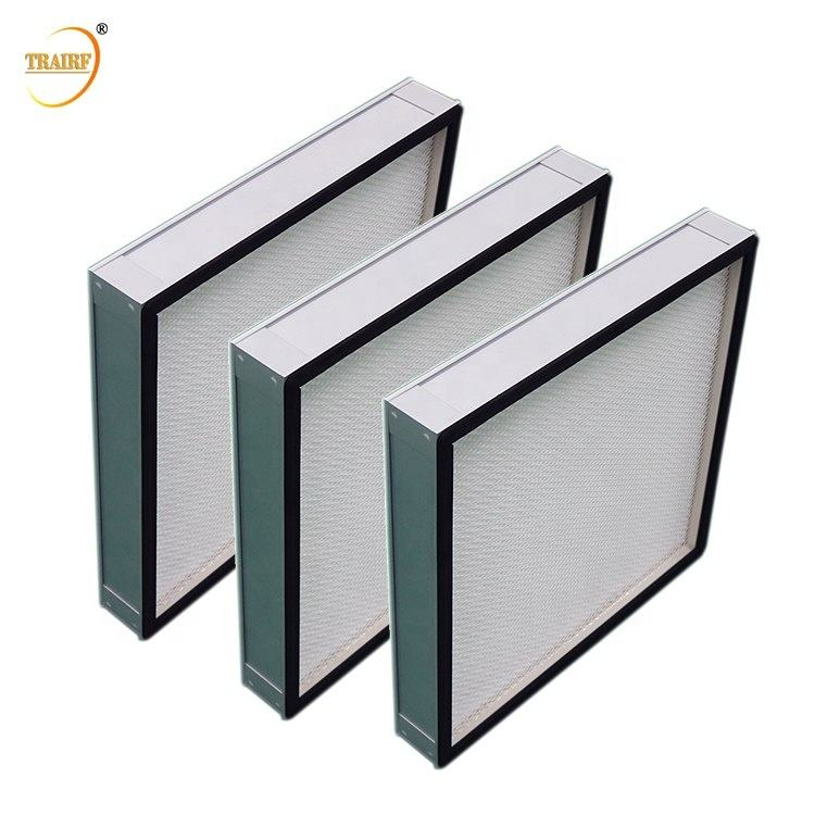 Best Seller Cassette Filter Mini Pleated Glass Fiber H13 HEPA Filter