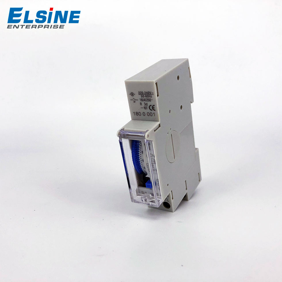 Din rail timer SUL180a delay timer 16A 250 V 24 시간 timer switch