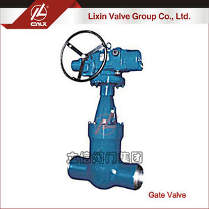 High quality 12 inch manual power station gate valve manufacturer