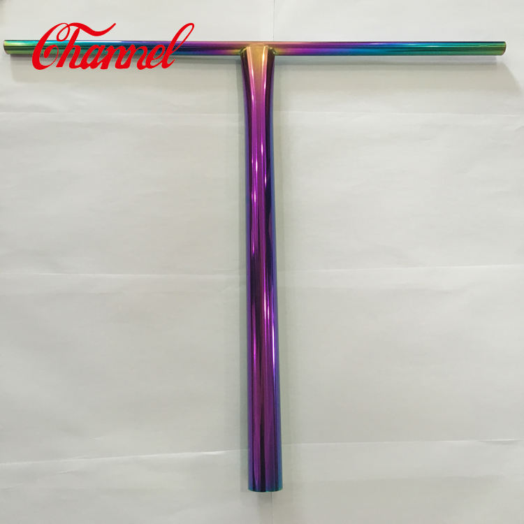 colorful electroplating gr9 t bar titanium tube for bike