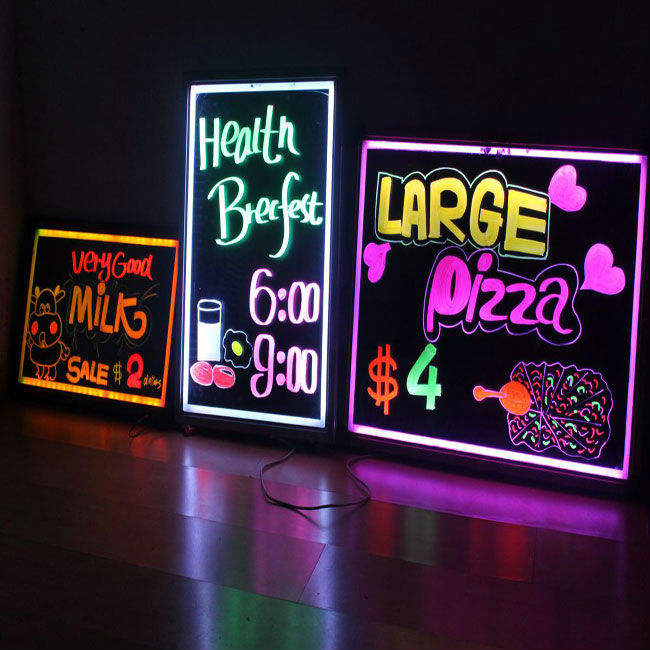 Shenzhen Newlight Make Led Writing Board/Light Led Posters Board