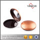 Makeup custom plastic protein compact powder case gold