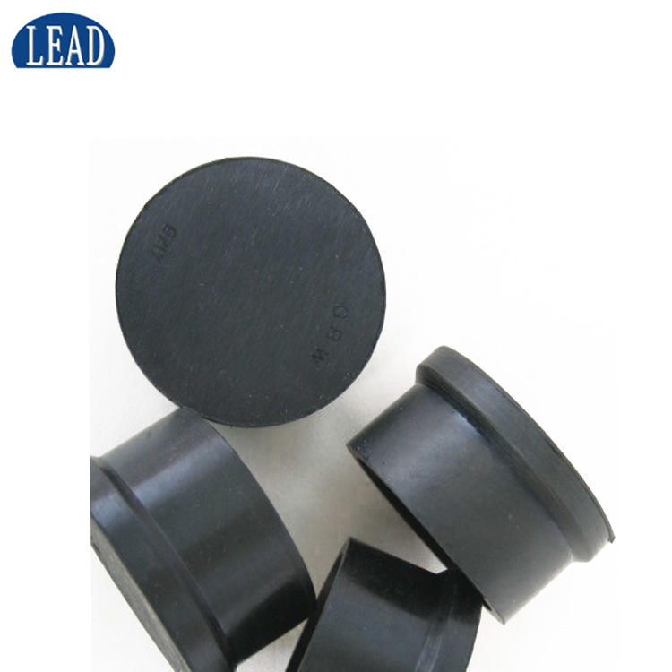 custom Different kinds of rubber stopper/black color Rubber End Caps/rubber cap