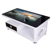 43 inch coffee table LCD player LCD digital signage touch screen information kiosk