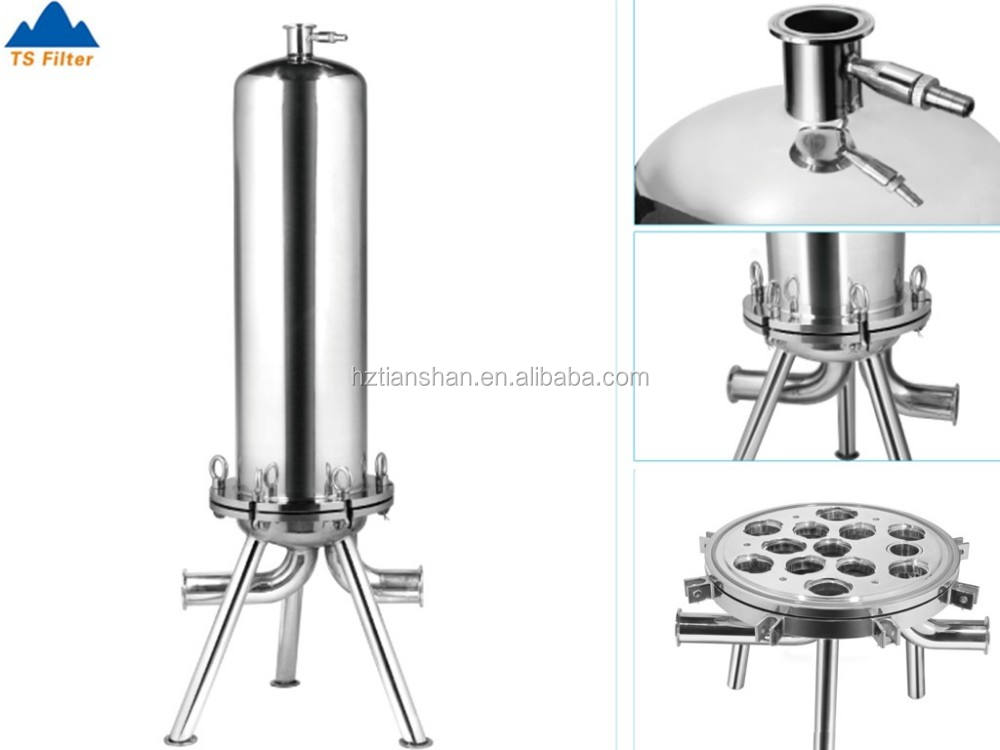 Professional wine filter machine with cartridge filter system