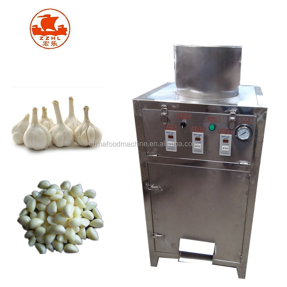 Cheapest Price Stainless Steel Dry Garlic Peeler Peeling Machine Automatic