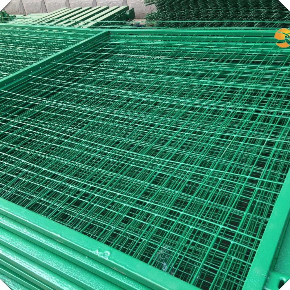 Сварной забор панели оцинкованной и ПВХ покрытием сварной забор из сетки