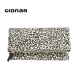 Gionar 2019 New Leopard Printing High End Pattern Suede Leather Handbags Designer Special Occasion Envelope Bags Evening Clutch