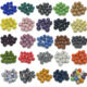 Wholesale Micro Pave Disco Crystal Beads Bracelet Spacer for Jewelry Making Beads