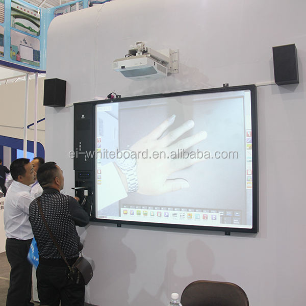 Ultra Short Throw Projector All-In-One Touch Screen Interaktif Sensor Papan
