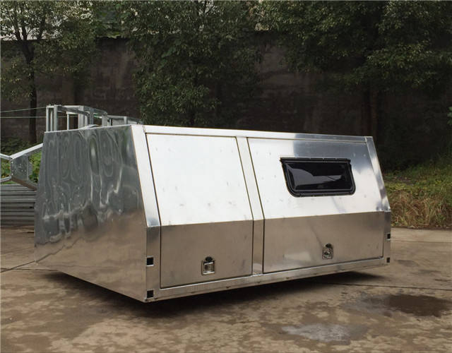 Aluminum Ute Canopy Tool Box Ute with window