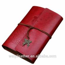 Promotion Ancient Classic Leather Notebook Printed Dairy Book
