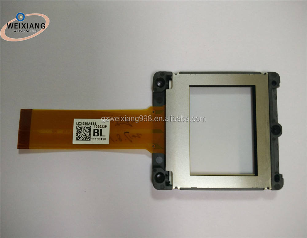 Proyector Original piezas LCD Panel LCX086A LCD Panel con la marca <span class=keywords><strong>renovar</strong></span> Cable LCX086